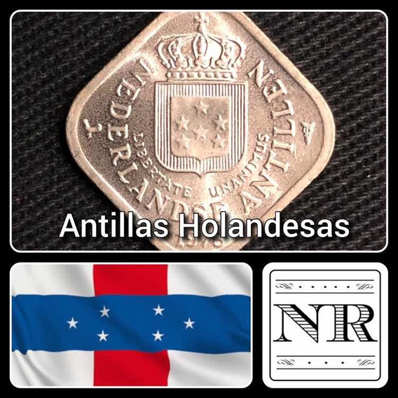 Antillas Holandesas - 5 Cents - Año 1978 - Km #13 - Cuadrada