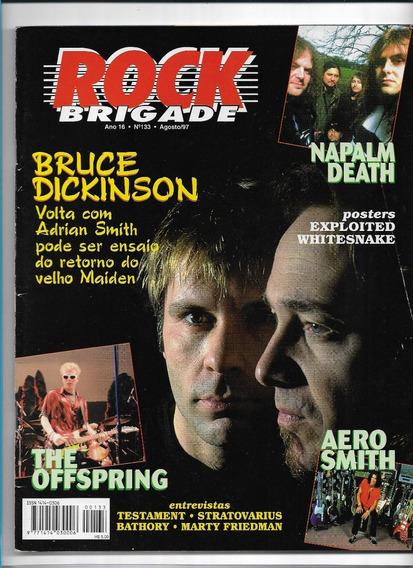 Rock Brigade Ed 133 Revista Bruce Dickinson Agosto 1997