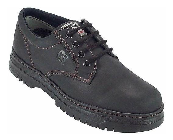 Sapato Kildare Masculino Timber G522 Couro Natural Preto