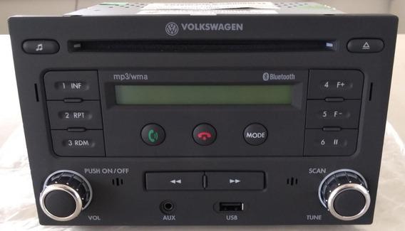 Rádio Clarion 2din Bluetooth Vw Tech - 5z0057182 Novo