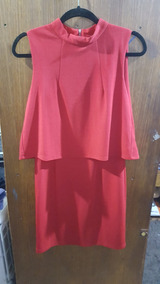 Vestido De Fiesta Rojo Io