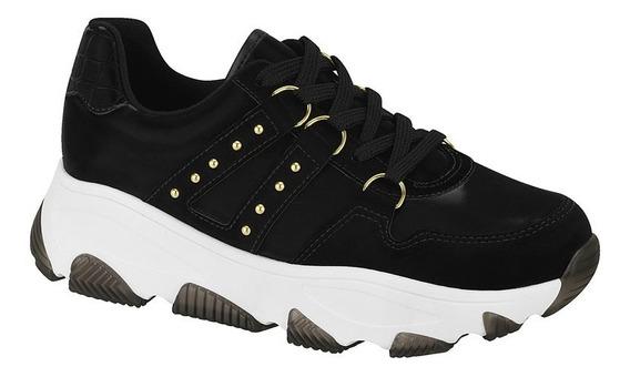 Tenis Chunky Sneaker Feminino Vizzano 100% Original