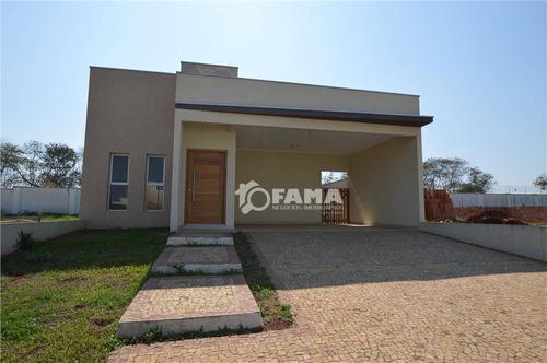 Casa À Venda, 175 M² Por R$ 670.000,00 - Condomínio Campos Do Conde 2 - Paulínia/sp - Ca1235