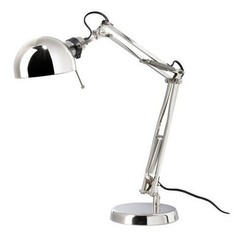 Lampara De Escritorio / Mesa Ikea Forsa Pixar + Foco Led