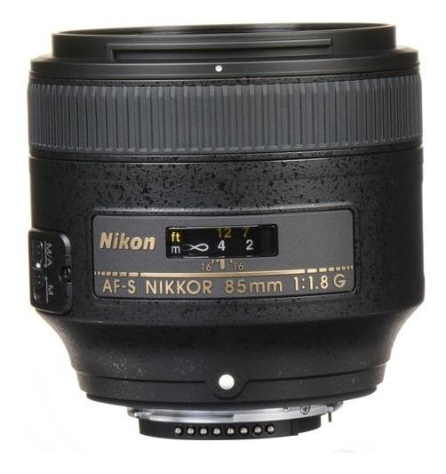 Lente Nikon 85mm F/1.8g Fx Af-s Autofoco Garantia 1 Ano Nfe
