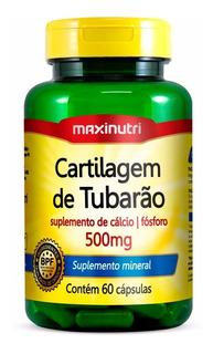 Cartilagem De Tubarão 500mg - 60 Capsulas - Maxinutri