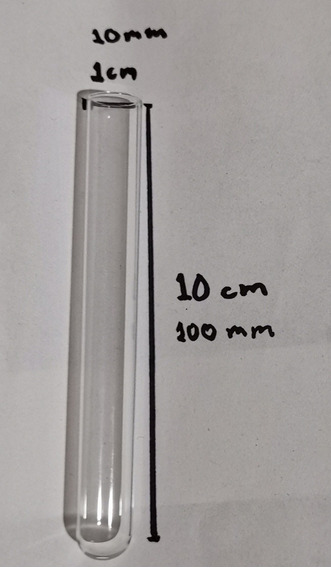 Tubos De Ensaye De Vidrio 10x100mm