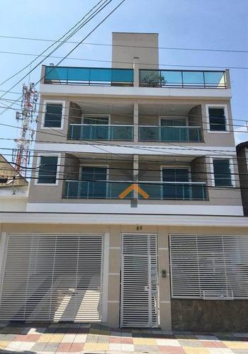 Apartamento À Venda, 101 M² Por R$ 480.000,00 - Utinga - Santo André/sp - Ap0029