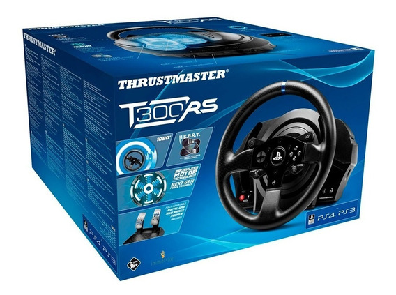 Volante Thrustmaster T300rs Ps4 Br 100% Original Lacrado