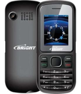 Celular Barra Preto Dual Chip Bright Pronta Entrega Original