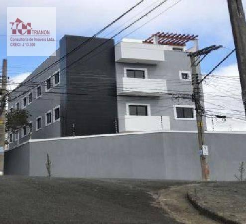 Imagem 1 de 1 de Cobertura S/cond. C/elevador 2 Dormitórios À Venda, 88 M² Por R$ 345.000 - Vila Scarpelli - Santo André/sp - Co1002