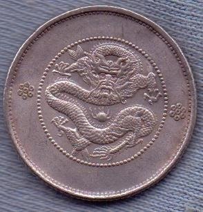 China 20 Cents 1911-15 * Provincia Yunnan * Republica