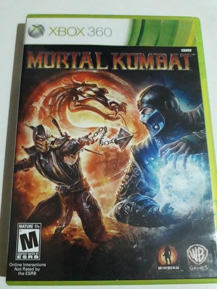 Mortal Kombat Xbox 360 Mídia Física