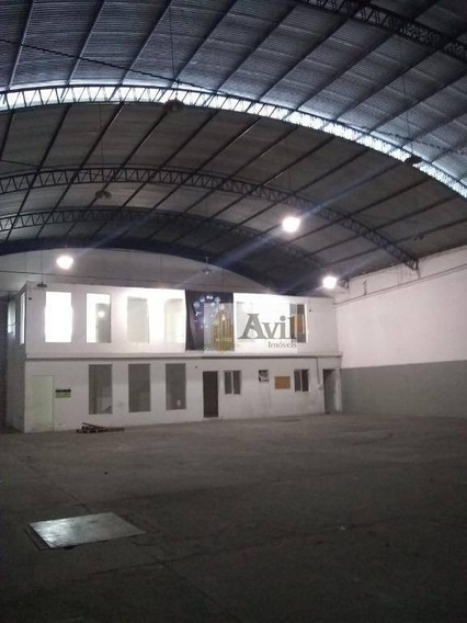 Galpão Para Alugar, 880 M² Por R$ 15.000/mês - Vila Carrão - São Paulo/sp - Ga0109
