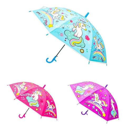 Paraguas Infantil Con Silbato Para Niños Nenes Chicos