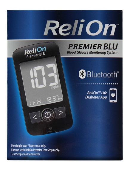 Sistema De Control De Glucosa En Sangre Relion Premier Blu