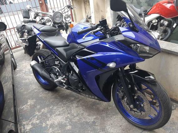 Yamaha Yzf R3 Azul 2019 2023 Km Rodado