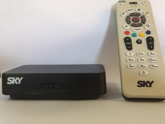 Receptor Sky S14 + Controle Remoto + Cabo De Áudio E Vídeo +