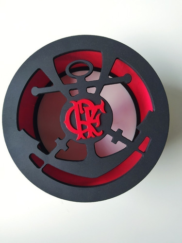 Carretilha De Pipa - Flamengo - Catraca - Madeira - Mdf -