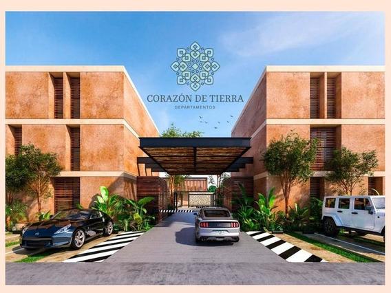 Departamento En Venta En Merida, Temozon Norte- Corazon De Tierra (a)