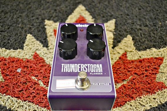 Pedal Tc Electronic Thunderstorm Flanger Novo + Frete!