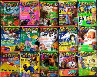Kit 15 Revista Recreio Quadrinhos