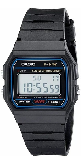 Casio Original F-91w Clássico Retro Digital