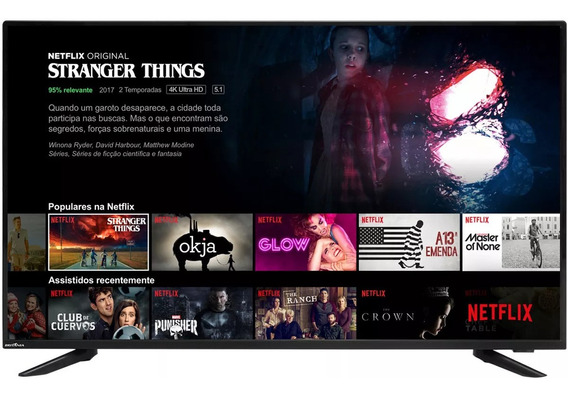 Televisão Smart Britania Pronta Entrega