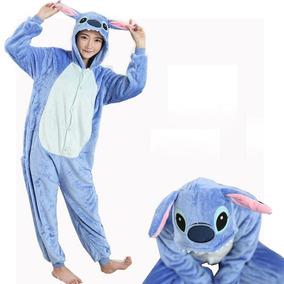 Kigurumi Stitch Cosplay Pijama Mameluco Disfraz Moda Kawaii