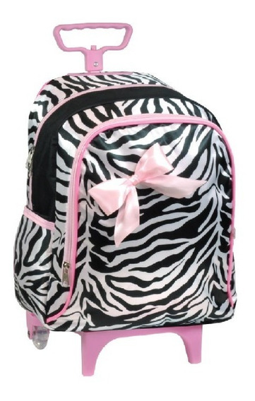 Mochila Pequena Infantil Bebê Escolinha Boa E Barata Zebra