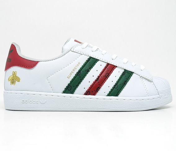 Tênis adidas Gucci Superstar Feminino