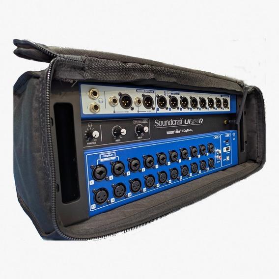 Mesa Som Digital Soundcraft Ui24r 24 Canais - Bag Grátis