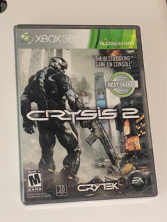 Crysis 2 Xbox 360 Cd Excelente Estado