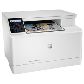 Impressora Hp Laserjet Pro Mfp M180nw Color 3 Em 1 Multifunc