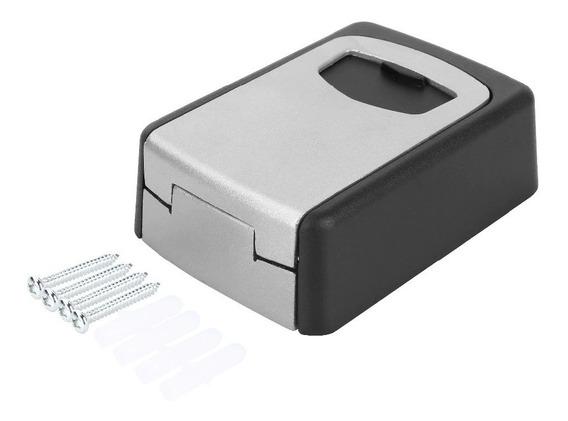 Mini Cofre Para 6 Chaves Key Holder P/ Apto Temporada