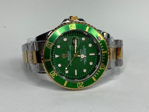 Rolex Combinado Cara Verde Versión Submariner