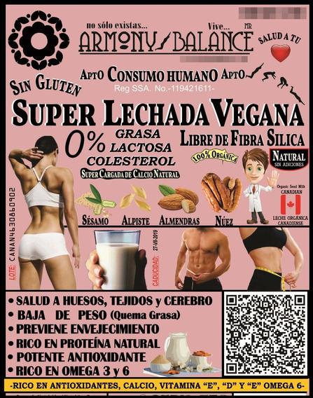 Polvo Para Preparar Lechadas Veganas 1 Bolsa 1.5 Libras
