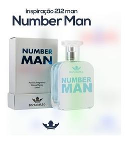 Perfume Bortoletto 521 Vip Man 100ml Ref 212 Vip Men