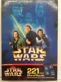 Rompecabezas Star Wars: Trilogy 221 Piezas
