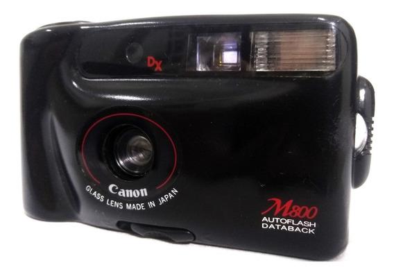 Maquina Fotográfica Canon M800 Japonesa Super Conservada