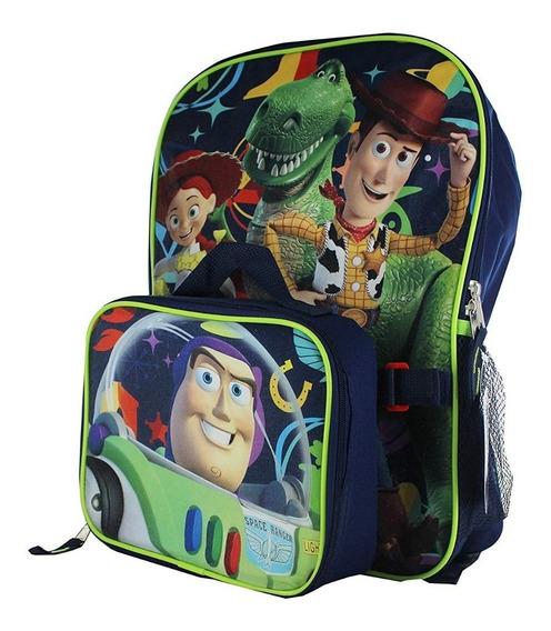 Mochila Toy Story 4 Mochilas Para Niños Combo Lunch Pack