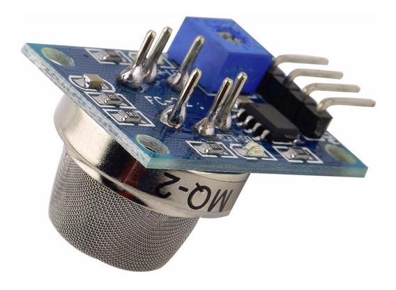 Sensor Mq-2 Gás Metano Butano Glp Fumaça Pra Arduino Pic ...