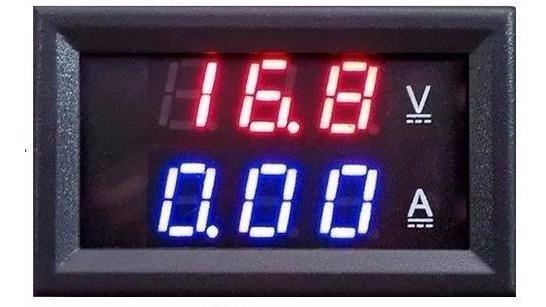 Voltímetro E Amperímetro Digital Dc 100v X 10a