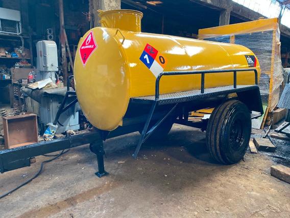 Tanque Trailer De Combustible 1200 Galones