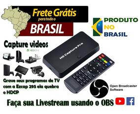 Placa De Captura Ezcap 295 Hdmi 1080p Ps3/ps4/ Wiiu/xbox 360