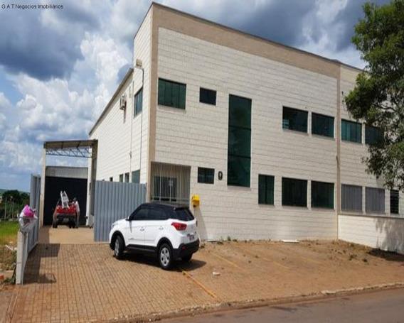 Galpão À Venda Centro Empresarial Castelo Branco - Boituva/sp - Gl00457 - 33703059
