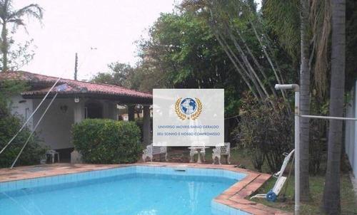 Imagem 1 de 30 de Casa Com 3 Dormitórios, 240 M² - Venda Por R$ 1.100.000,00 Ou Aluguel Por R$ 6.500,00/mês - Cidade Universitária - Campinas/sp - Ca1369