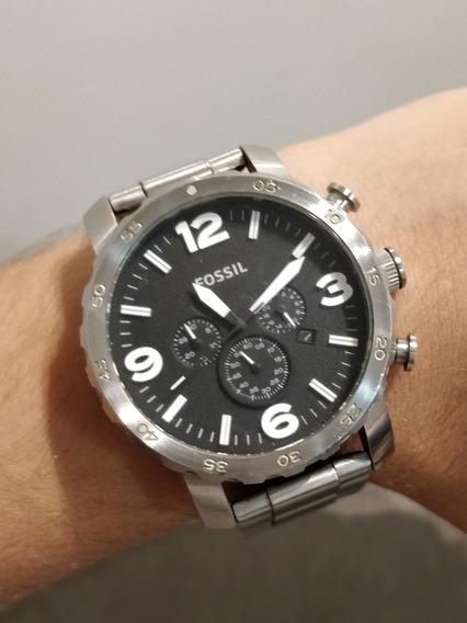 Relógio Fossil Aço Inoxidável - Prata