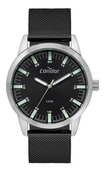 Relógio Condor Metal Masculino Prata Co2035mtb/3p