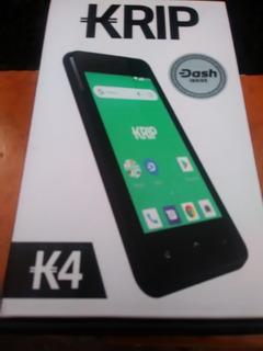 Celular Krip K4 Android + Linea Movistar 2 Meses De Uso